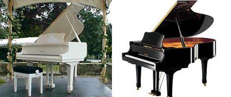 Piano hire for Yamaha c3 piano dimensions